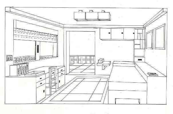 3 eso blog de yolanda guti rrez - Habitacion en perspectiva conica ...